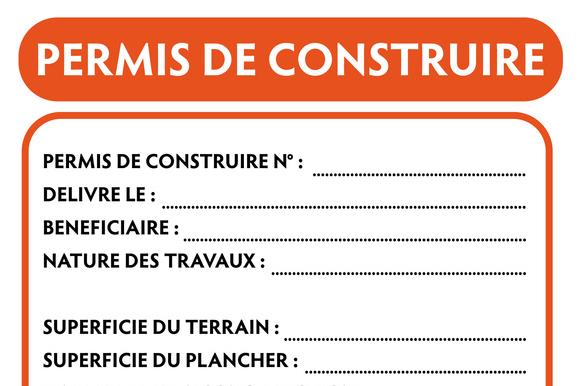 Affichage Permis De Construire Scp Aubert Valentin Joly Temps